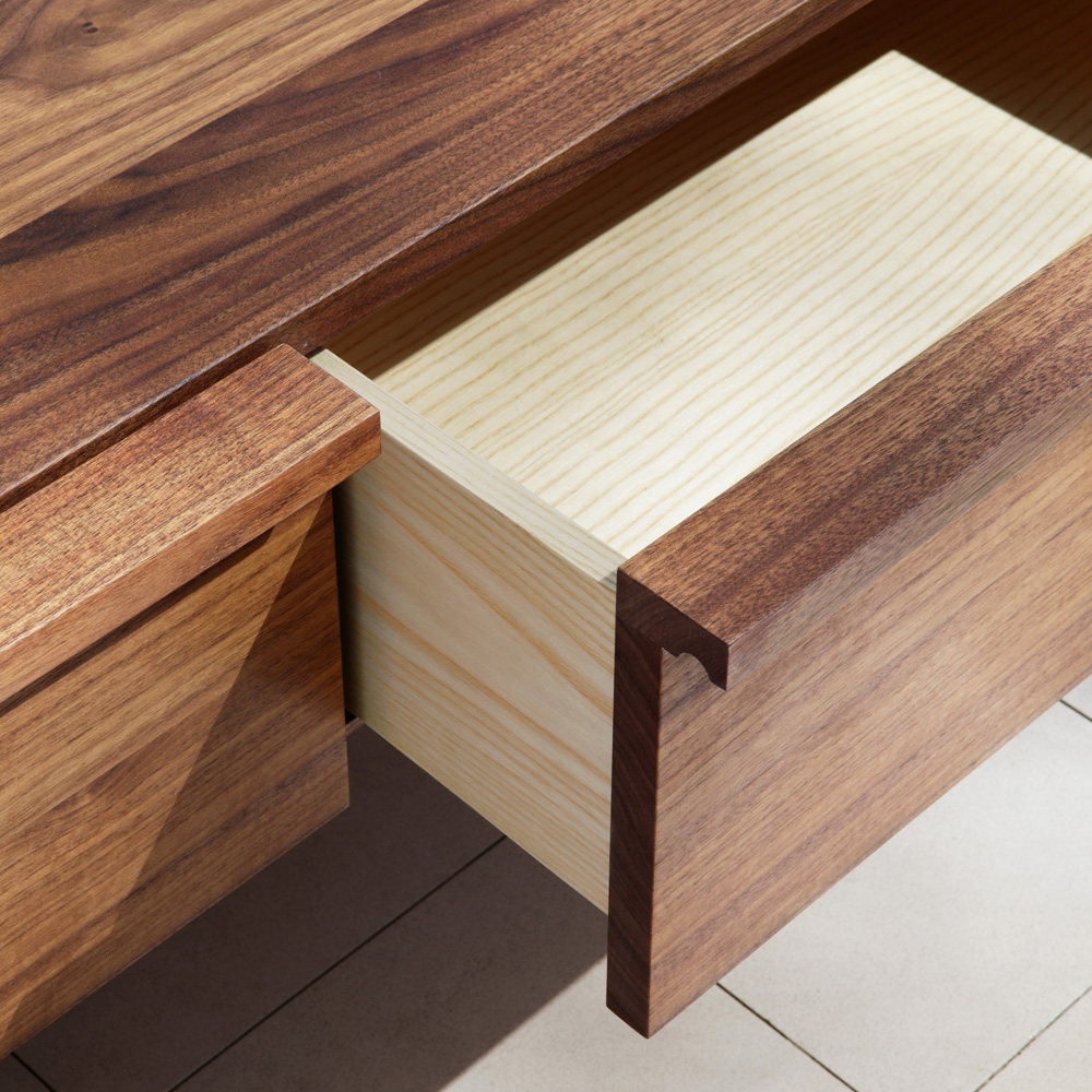 Wall Drawers designed by Craig Bassam and Scott Fellows of BassamFellows.