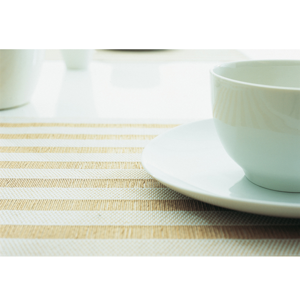 eco-friendly placemats in paper yarn by woodnotes