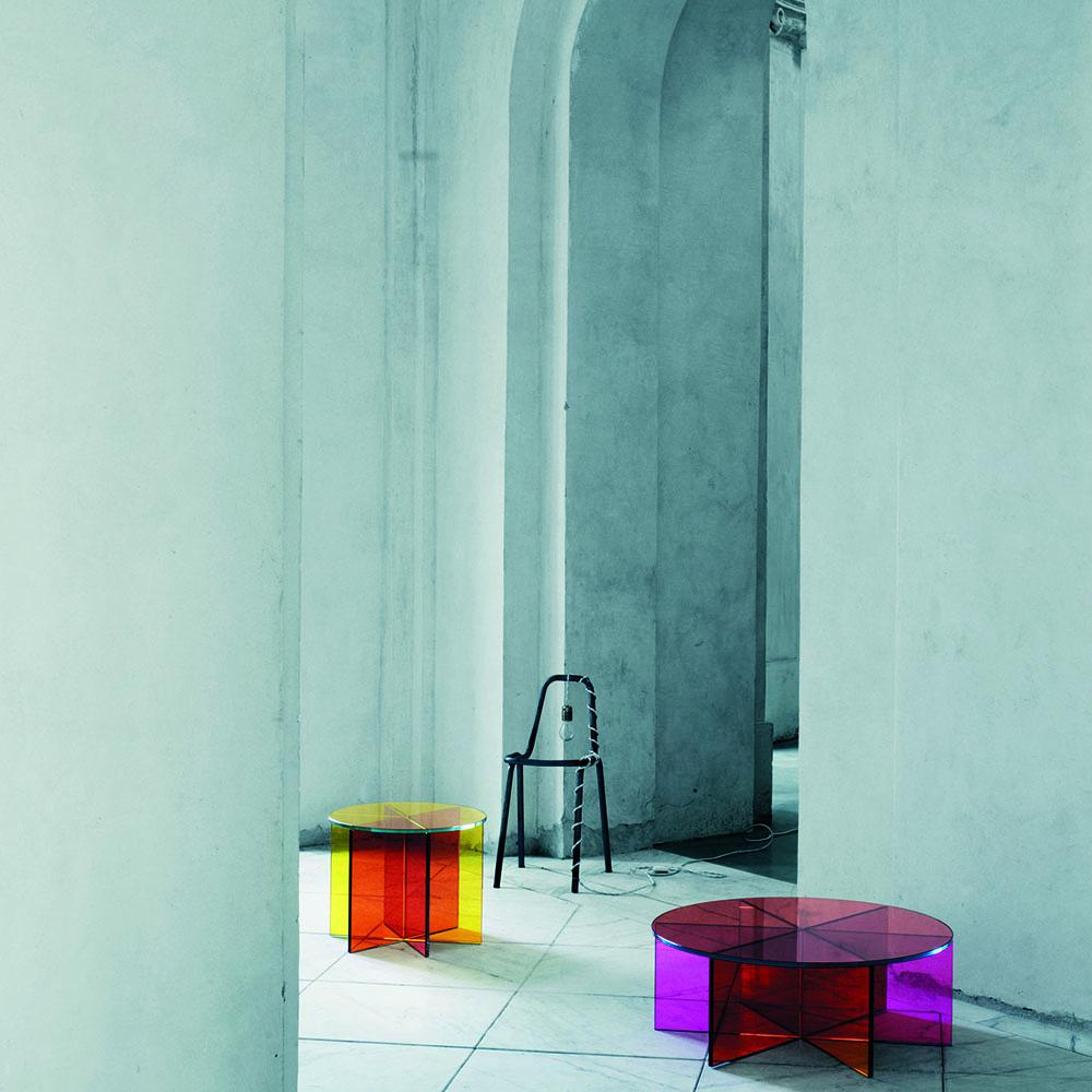 XXX occasional table designed by Johanna Grawunder for Glas Italia