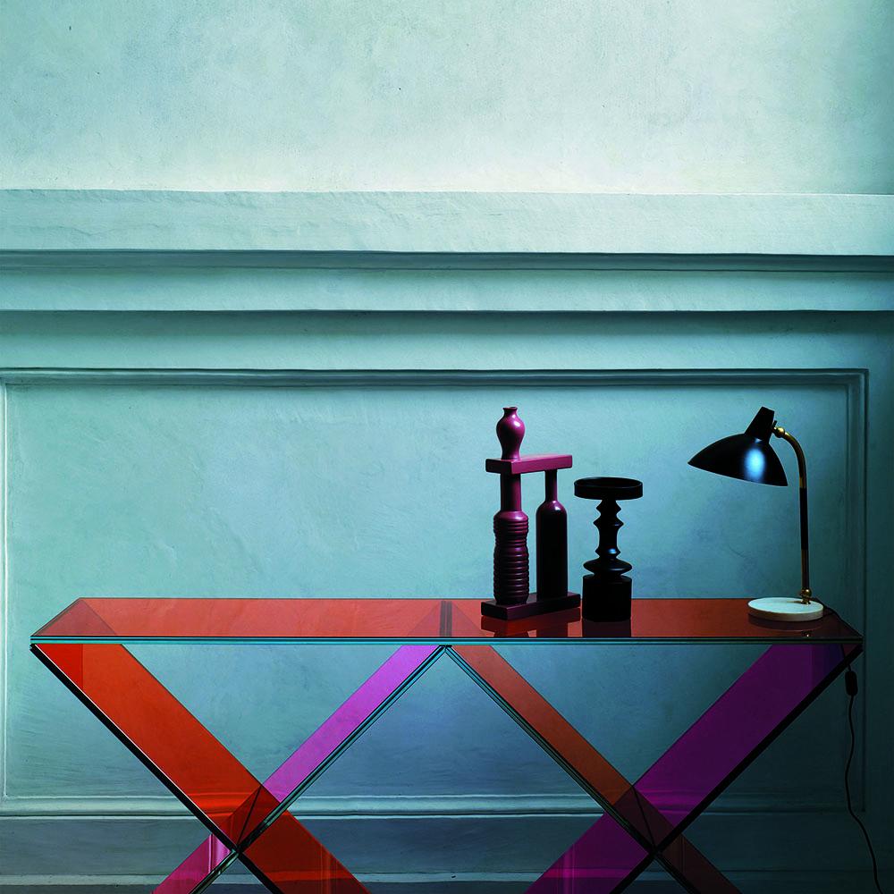 XX Console designed by Johanna Grawunder for Glas Italia