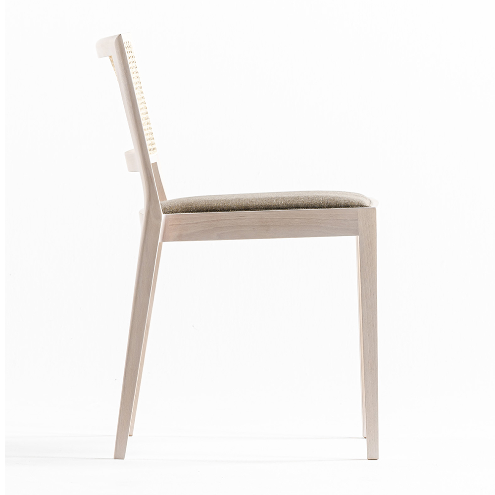 a chair outside the cage time and style