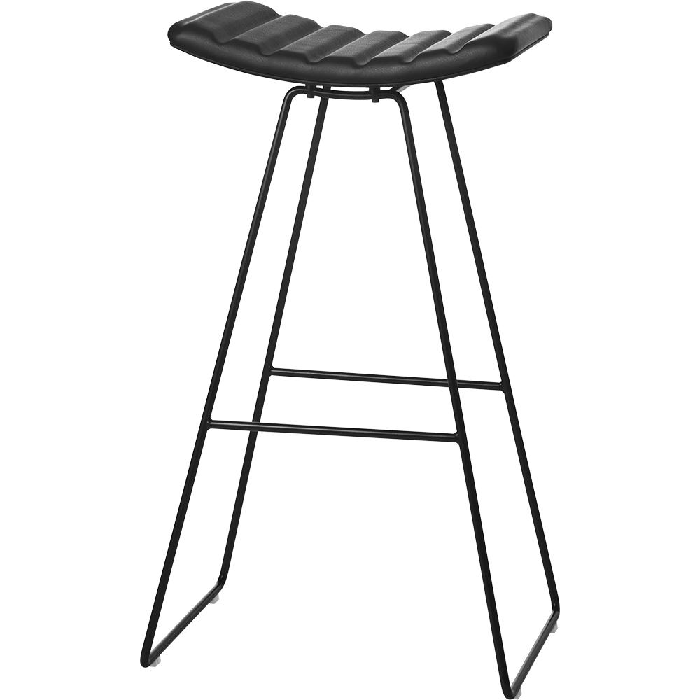 a3 stool paul leroy gubi contemporary modern designer upholstered danish black barstool counter stool bar stool bar seating