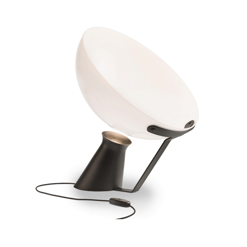 aida lamp angelo mangiarotti karakter modern geometric glass lamp