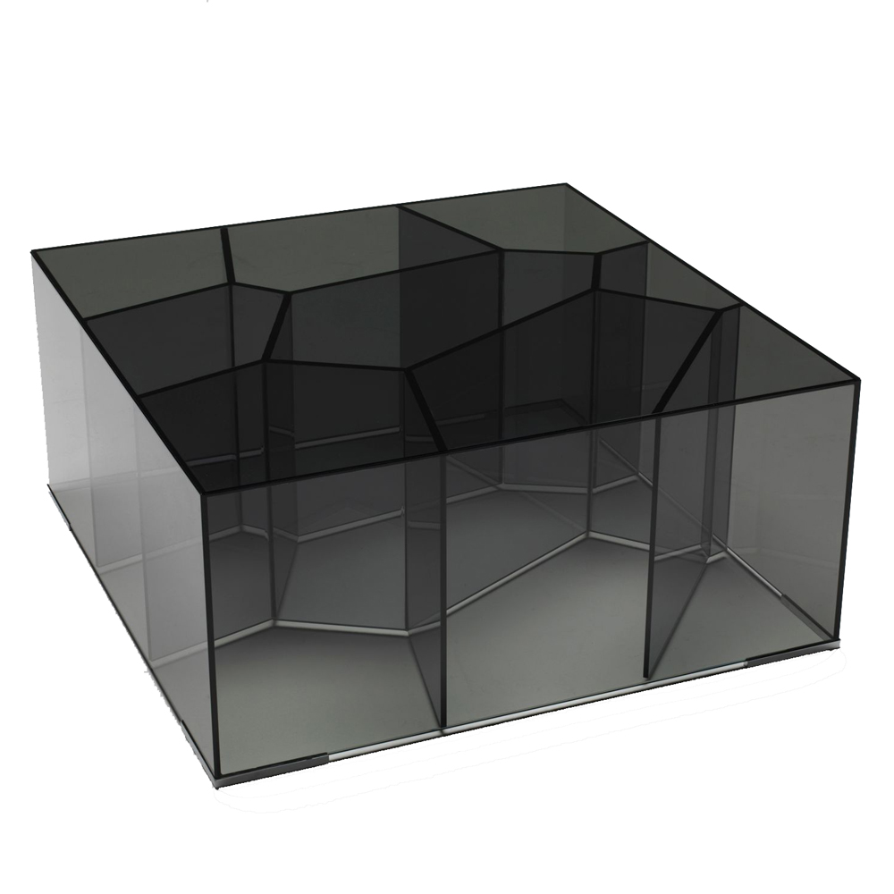 Alice occasional table designed by Jean-Marie Massaud for Glas Italia.