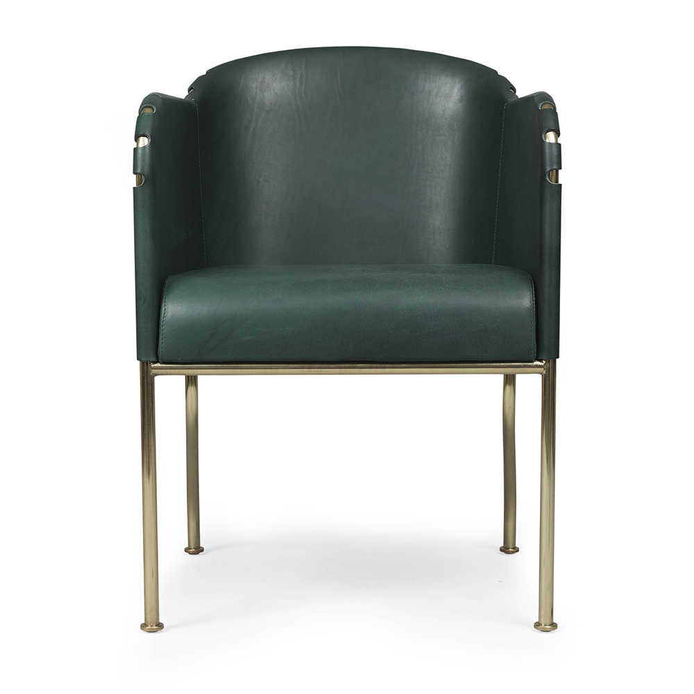 ambassad mats theselius suite ny modern contemporary designer steel leather armchair