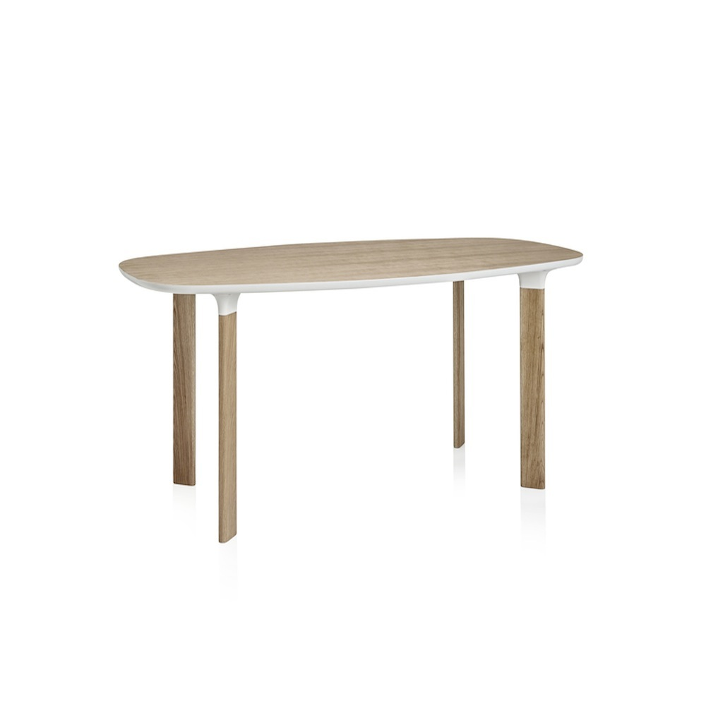 Analog table Jamie Hayon Fritz Hansen oval modern danish table