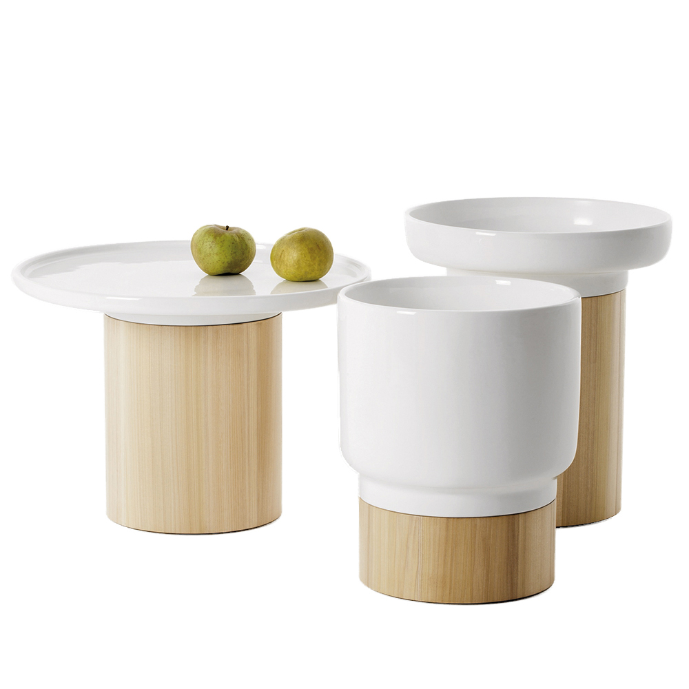 Apu occasional tables designed by Hannah Ehlers for Zietraum