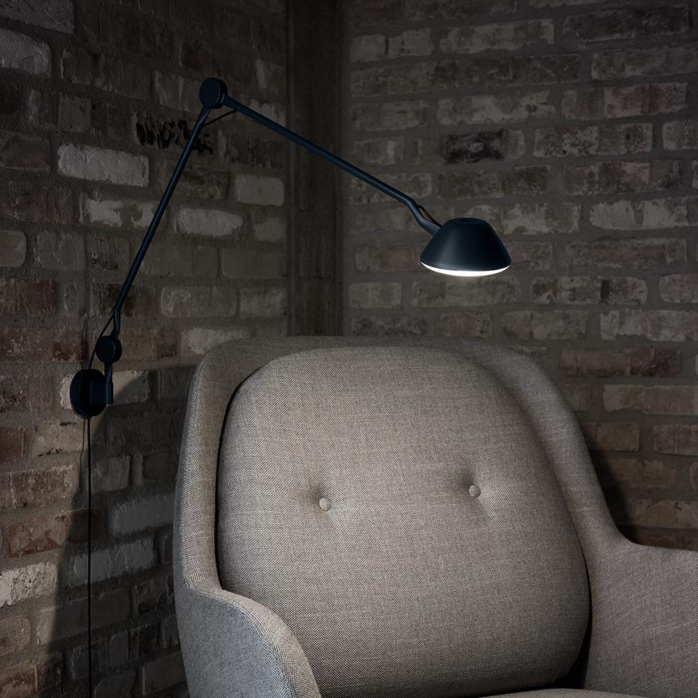 aq01 anne qvist fritz hansen modern contemporary danish designer wall sconce lamp light lighting