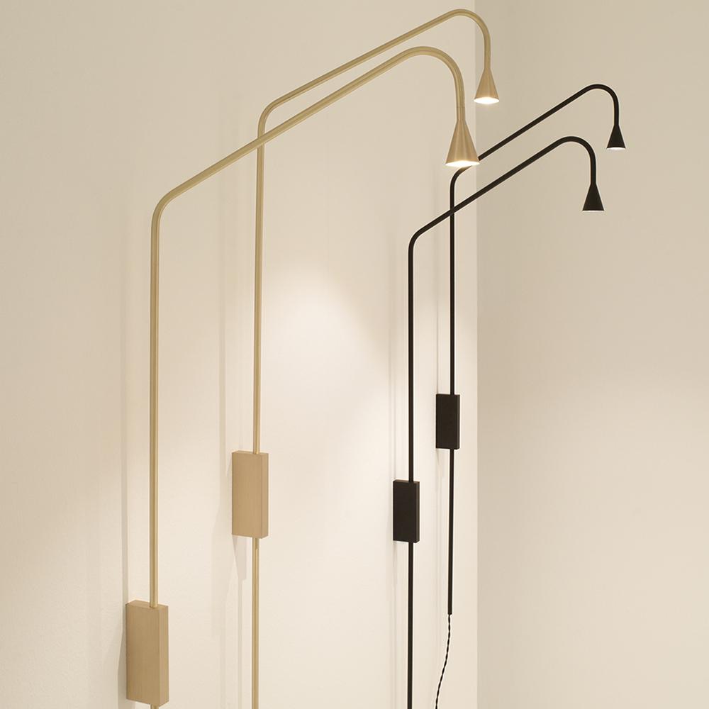 austere wall lamp hans verstuyft trizo21 minimalist contemporary designer lighting