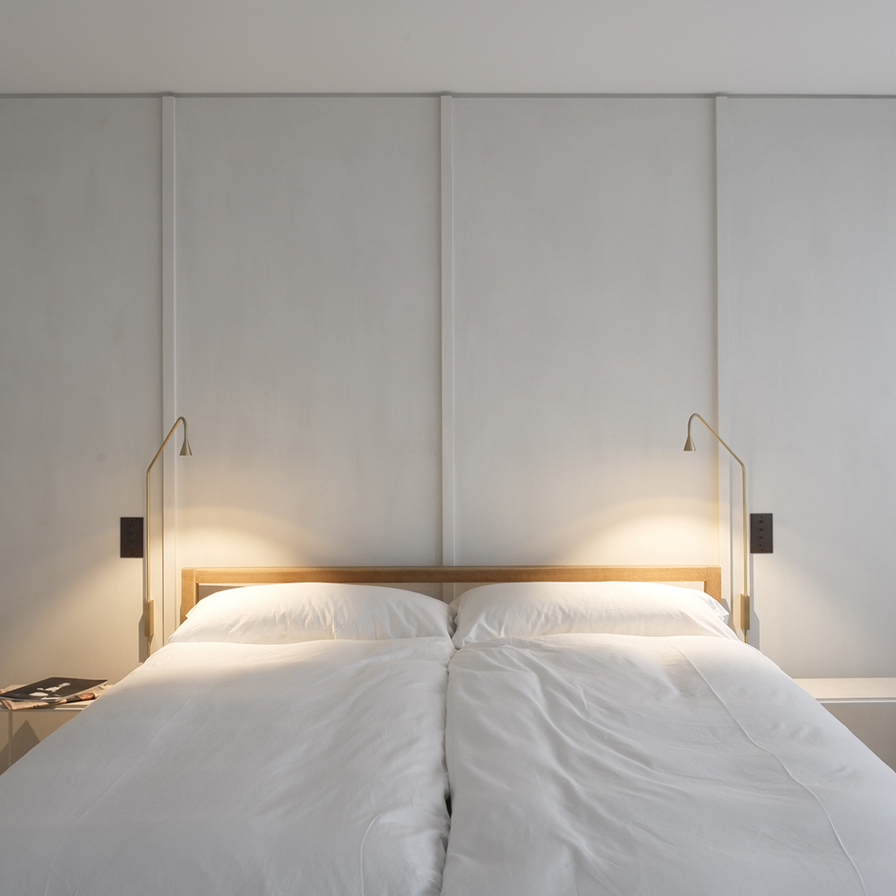 austere wall lamp hans verstuyft trizo21 modern eco-friendly bedroom wall lights