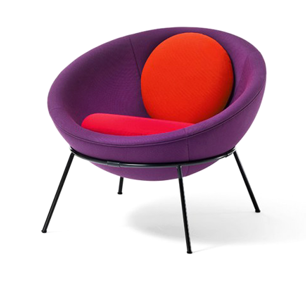 Bardi's Bowl Chair Collection by Lina Bo Bardi for Arper