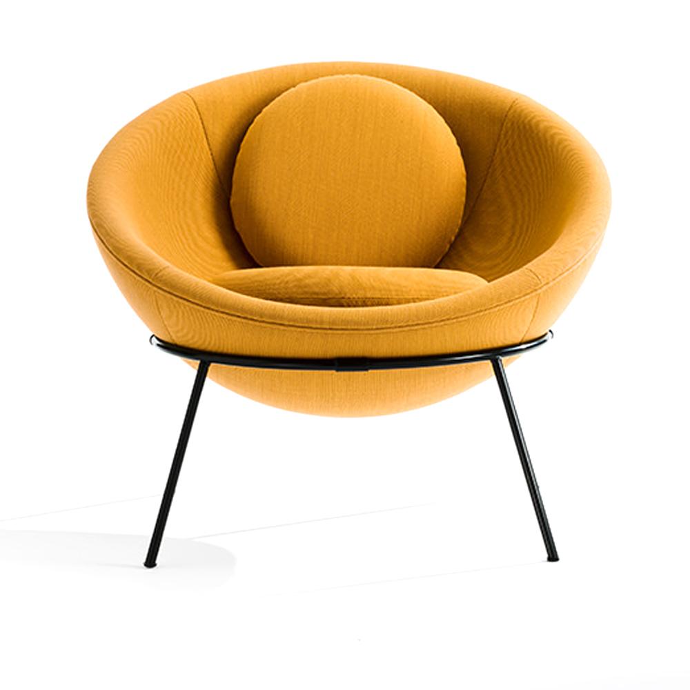 Bardi 39 s bowl chair collection lina bo bardi arper usa for Lina bo bardi bowl