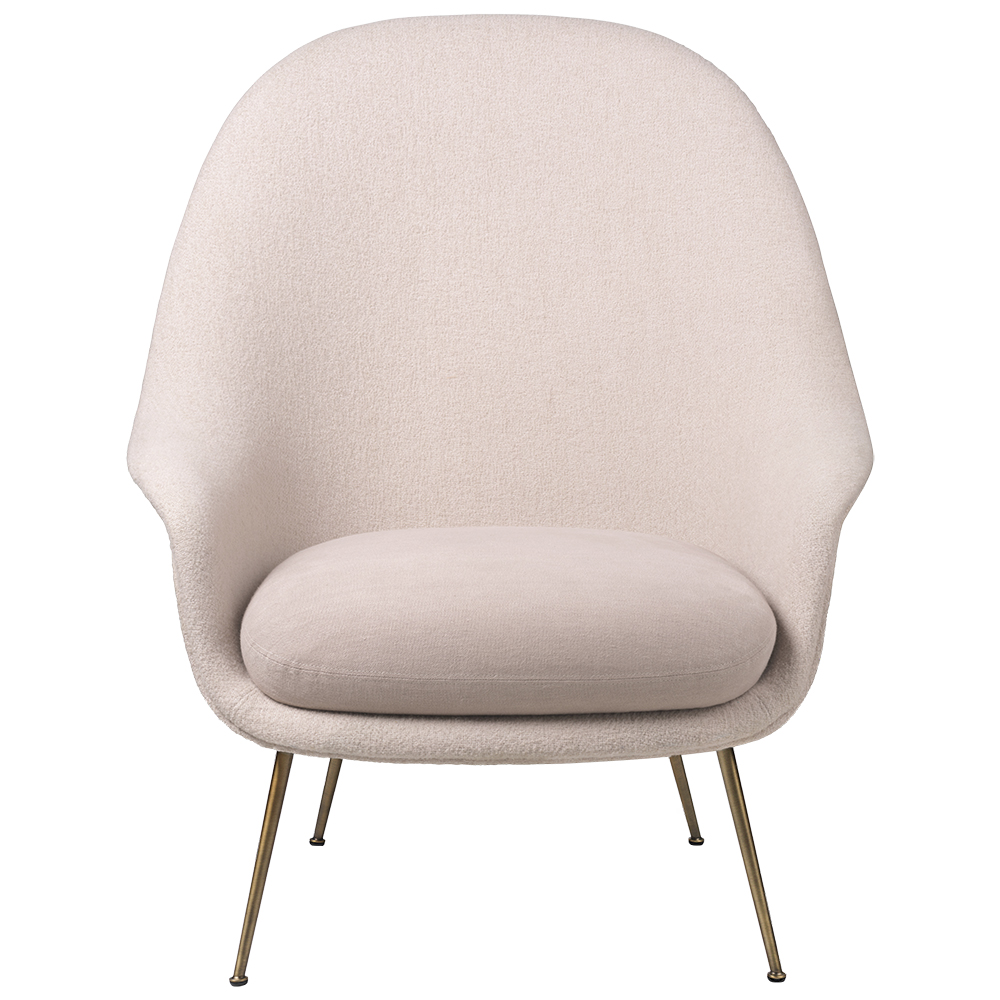 bat lounge chair gamfratesi gubi contemporary modern designer upholstered high back lounge chair