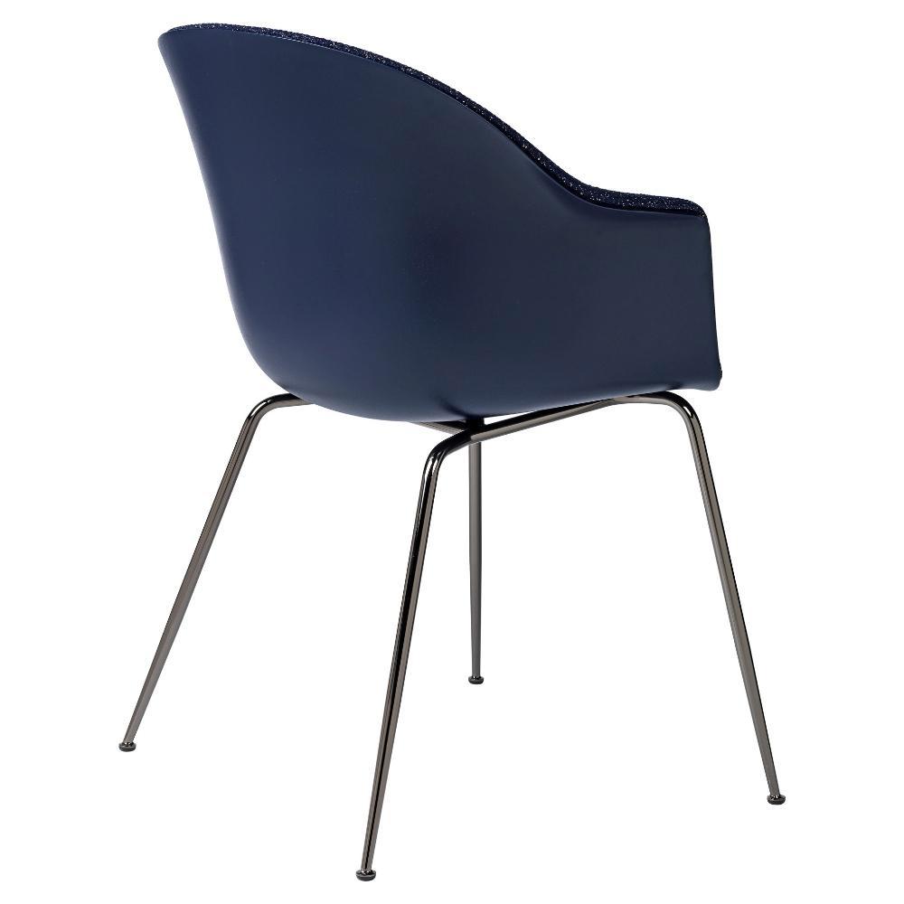 gubi bat dining chair contemporary modern danish designer upholstered european dining chair