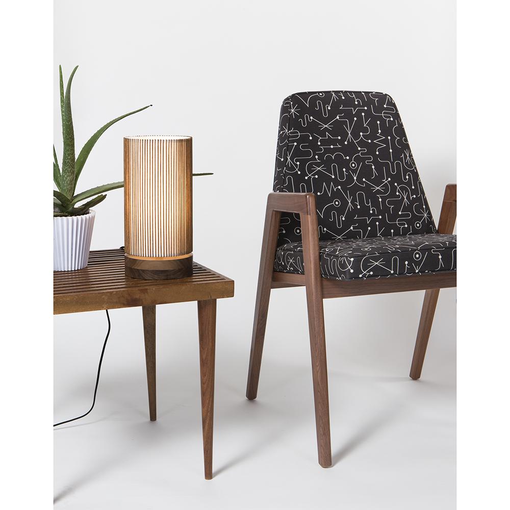 beside table light mel smilow smilow furniture midcentury modern american designer bedside table light