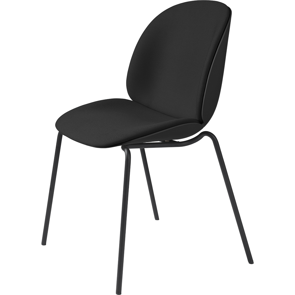 beetle dining chair stackable gamfratesi gubi modern designer danish contemporary upholstered stacking dining chair