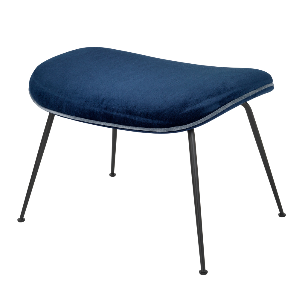 Beetle Lounge footstool Gamfratesi GUBI NAVY