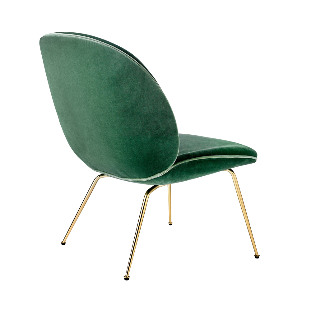 Beetle Lounge GamFratesi GUBI modern upholstered easy chair