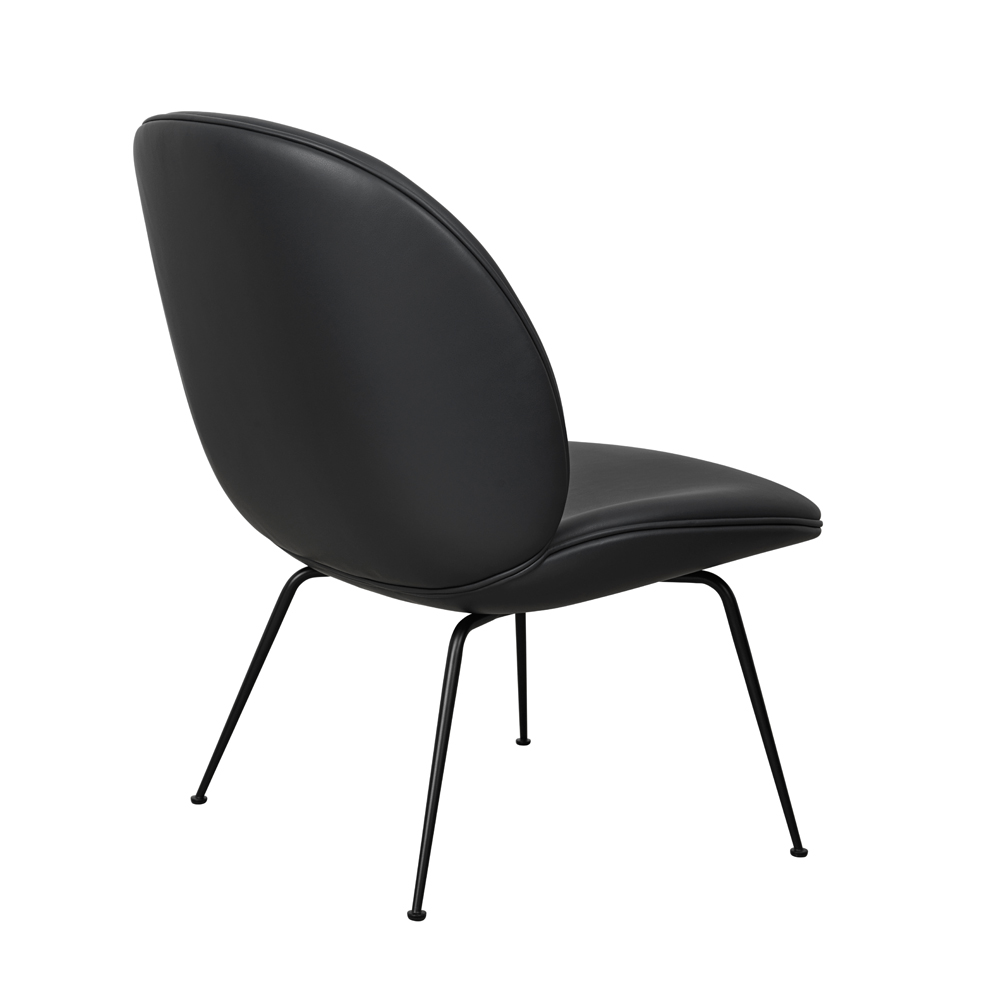 Beetle Lounge Gamfratesi GUBI black leather