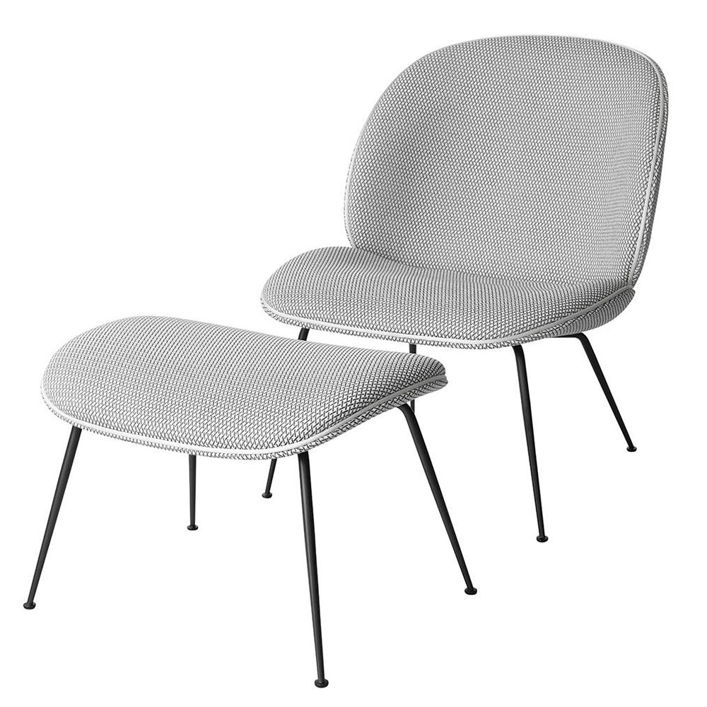 beetle ottoman gamfratesi gubi contemporary upholstered danish designer footrest