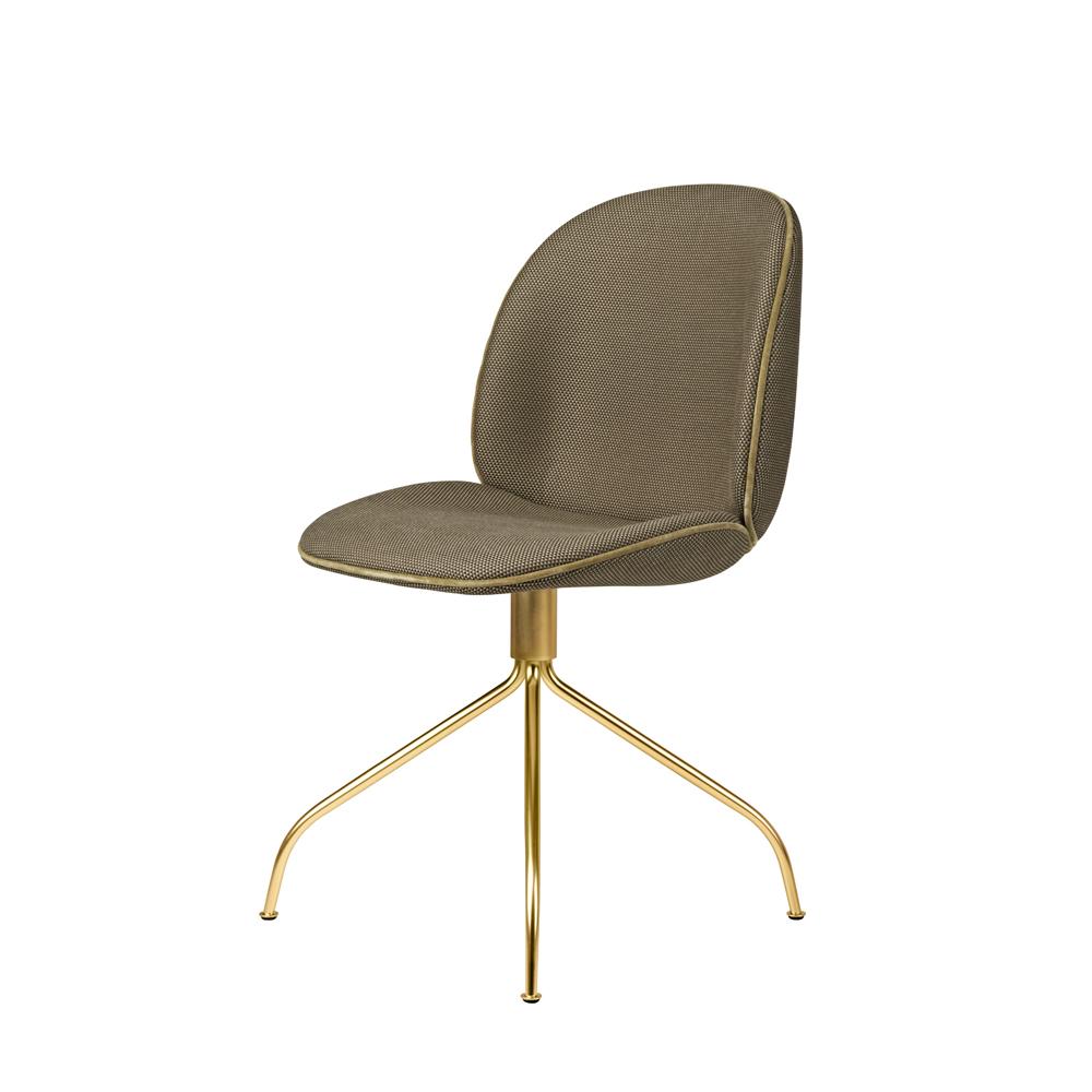 beetle swivel dining chair gamfratesi gubi upholstered italian designer seating
