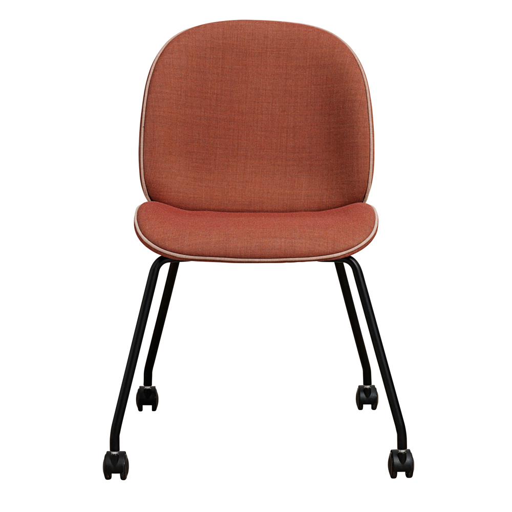 beetle task chair gam fratesi gubi suite ny castors stackable