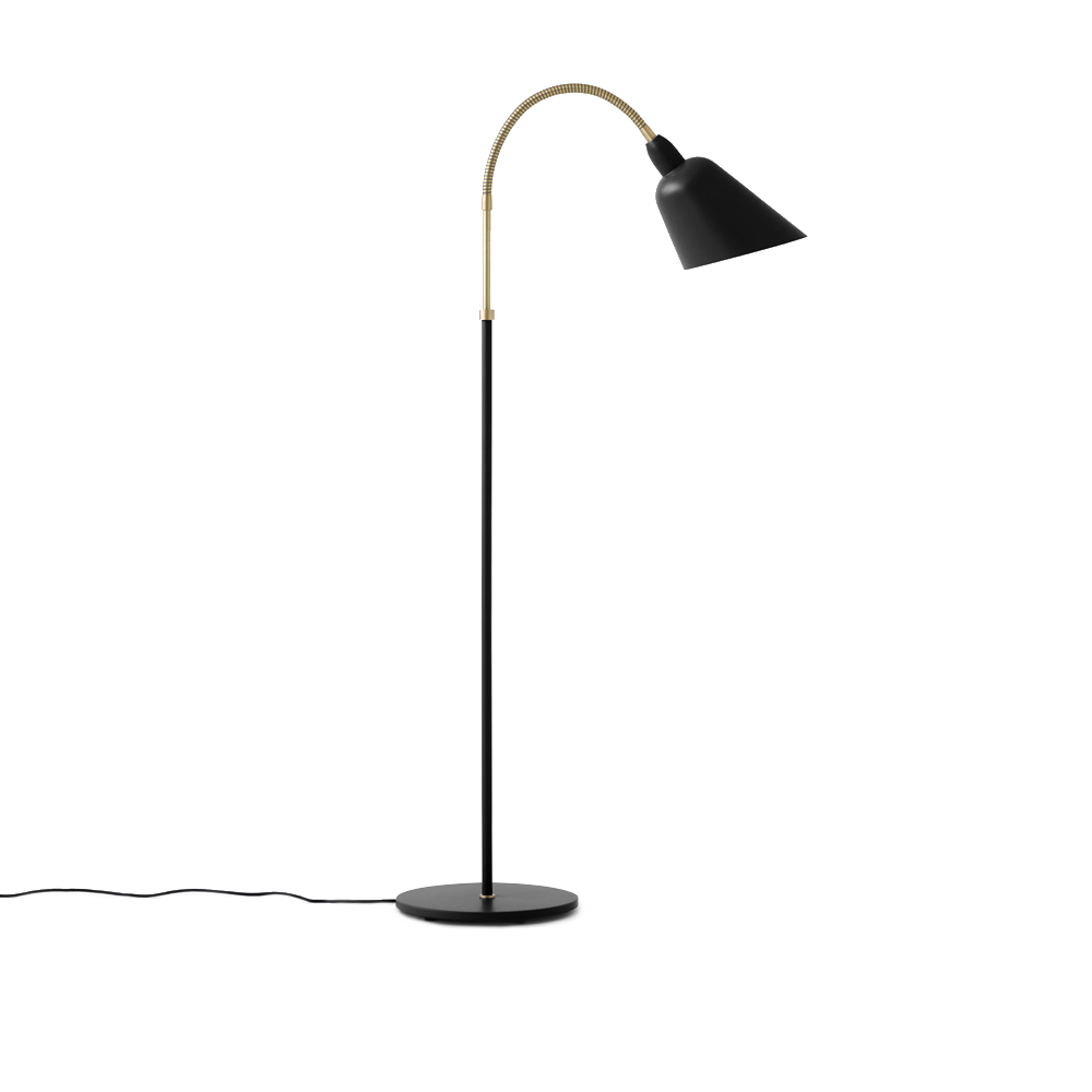 Bellevue Brass Floor Lamp by Arne Jacobsen for AndTradition at SUITE NY