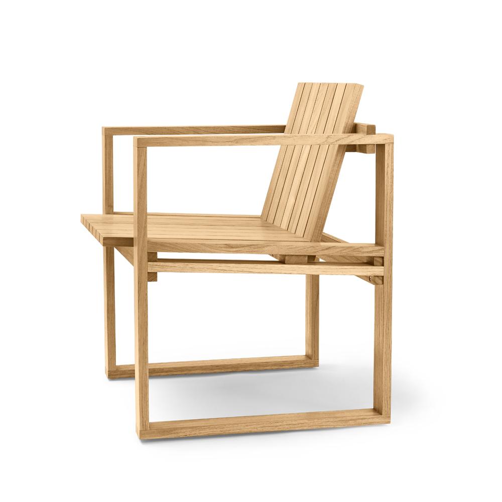bk10 armchair bodil kjaer carl hansen indoor outdoor midcentury modern danish designer teak wood armchair