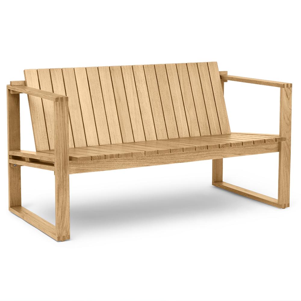 bk12 armchair bodil kjaer carl hansen indoor outdoor midcentury modern danish designer teak wood bench benches