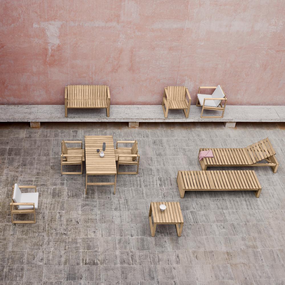 bk15 bodil kjaer carl hansen contemporary midcentury modern danish designer solid wood wooden indoor outdoor dining table