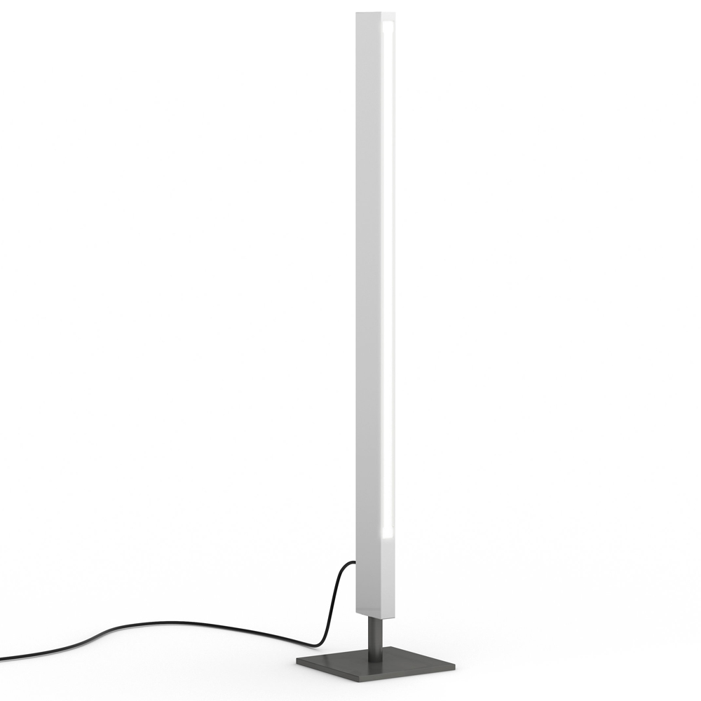 blade table lamp white gloss black Douglas fanning