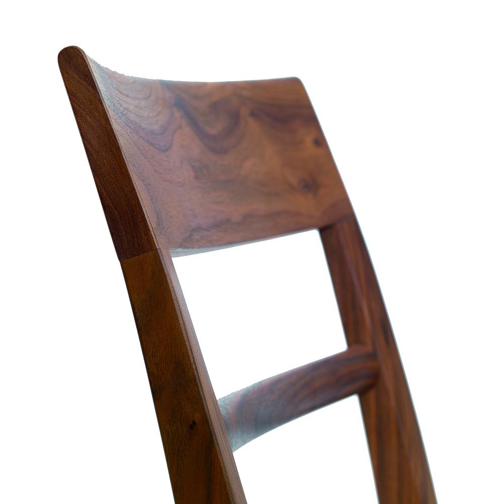 blue chair Birgit Gämmerler Iris Braun Rolf Huber zeitraum contemporary modern designer european solid wood wooden dining chair