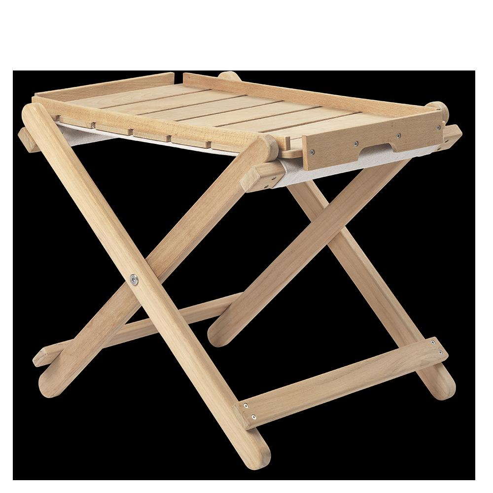bm5768 outdoor footstool borge mogensen carl hansen and sons