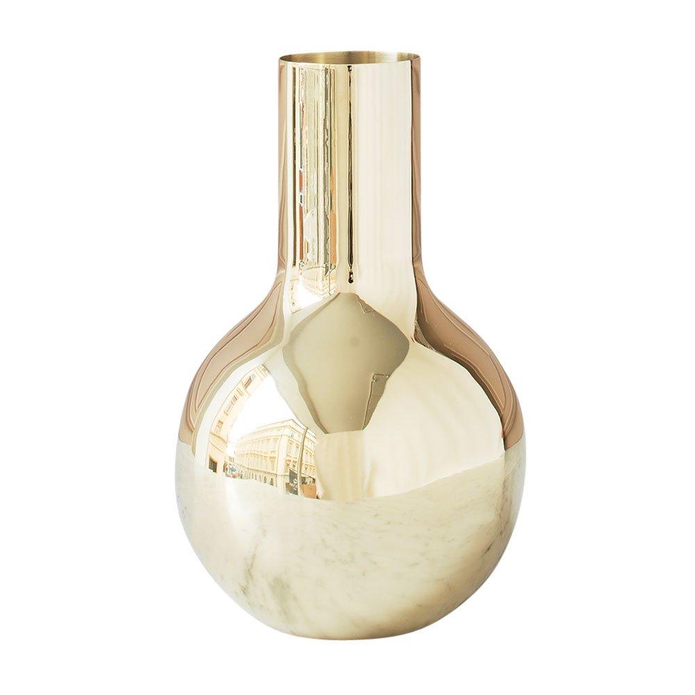 boule vase small olivia herms skultuna suite ny brass