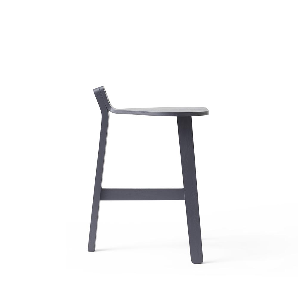 bronco stool guillaume delvigne karakter modern wooden bar stool danish designer oak stool