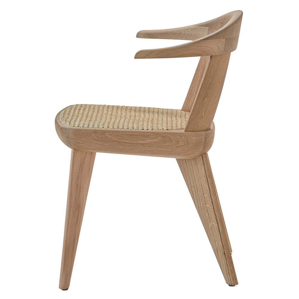 brutus bassamfellows modern contemporary designer american wood side chair