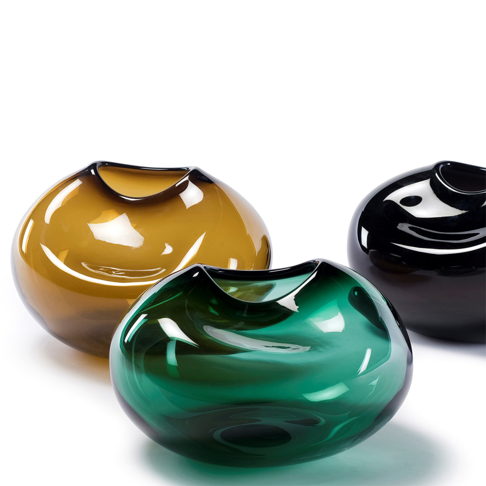 Caillou Vase Kate Hume Skultuna when objects work colored glass
