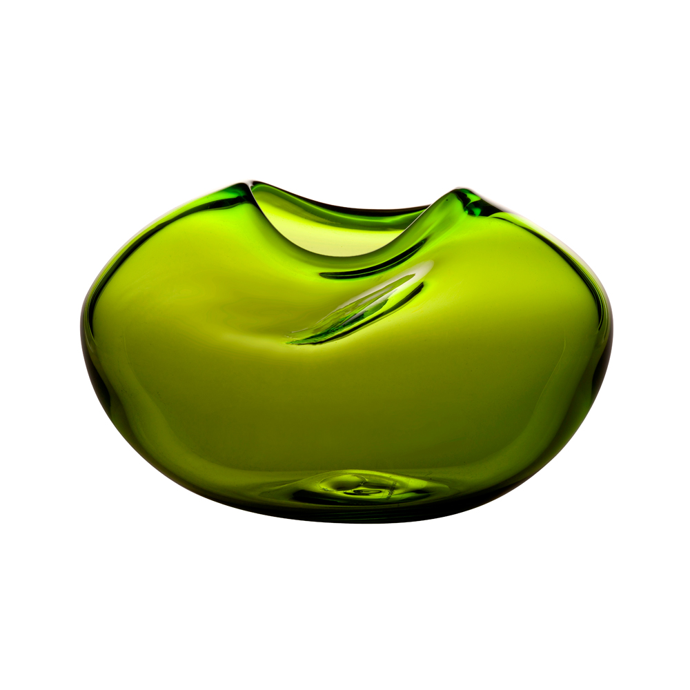 Caillou Vase Kate Hume Skultuna when objects work colored glass green