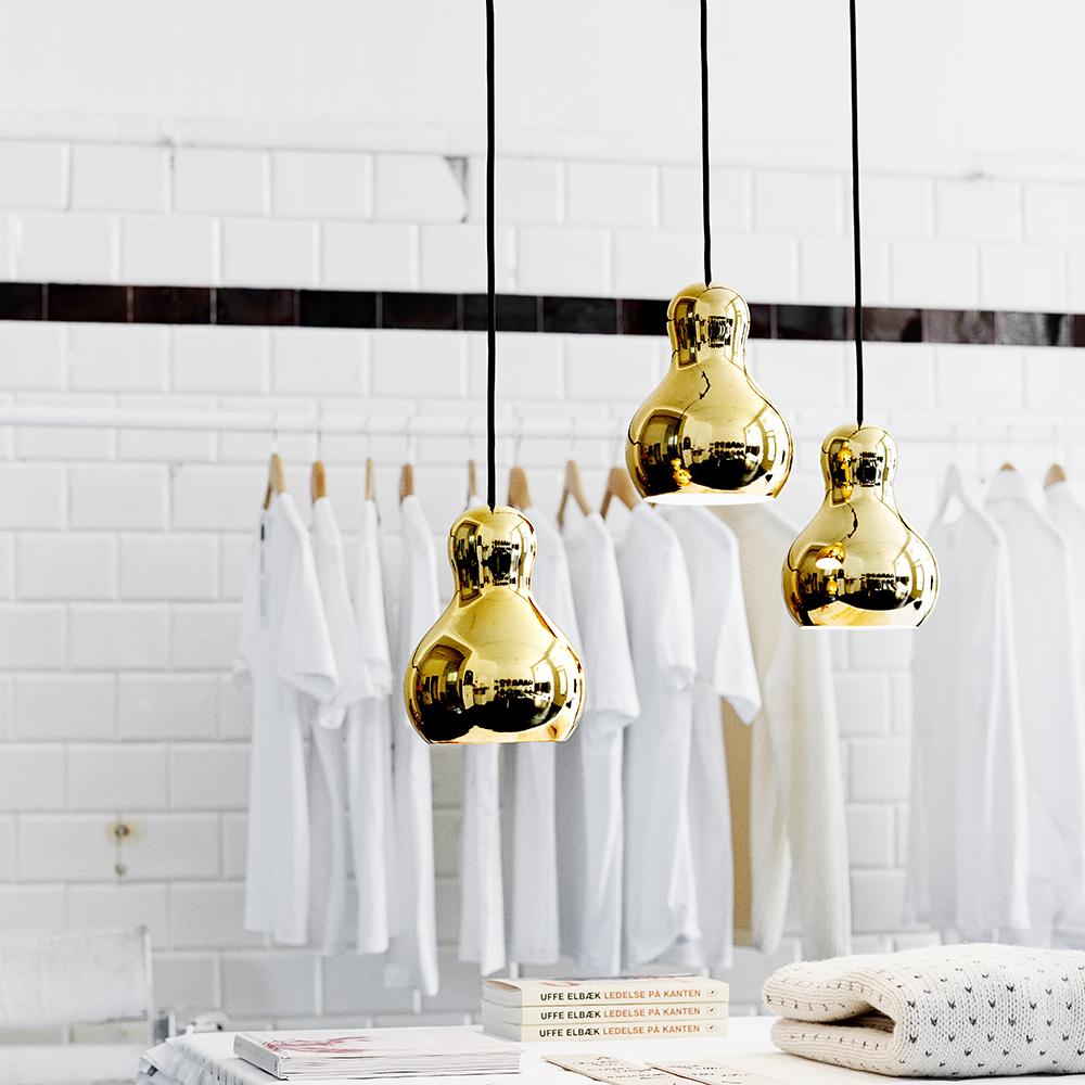calabash komplot design fritz hansen modern contemporary designer colored metallic pendant suspension lamp lighting light danish design