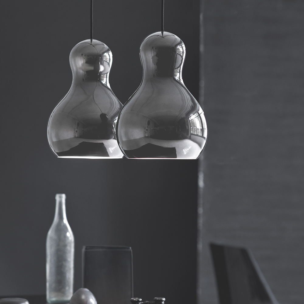 calabash komplot design fritz hansen modern contemporary designer colored metallic pendant suspension lamp lighting light danish design'