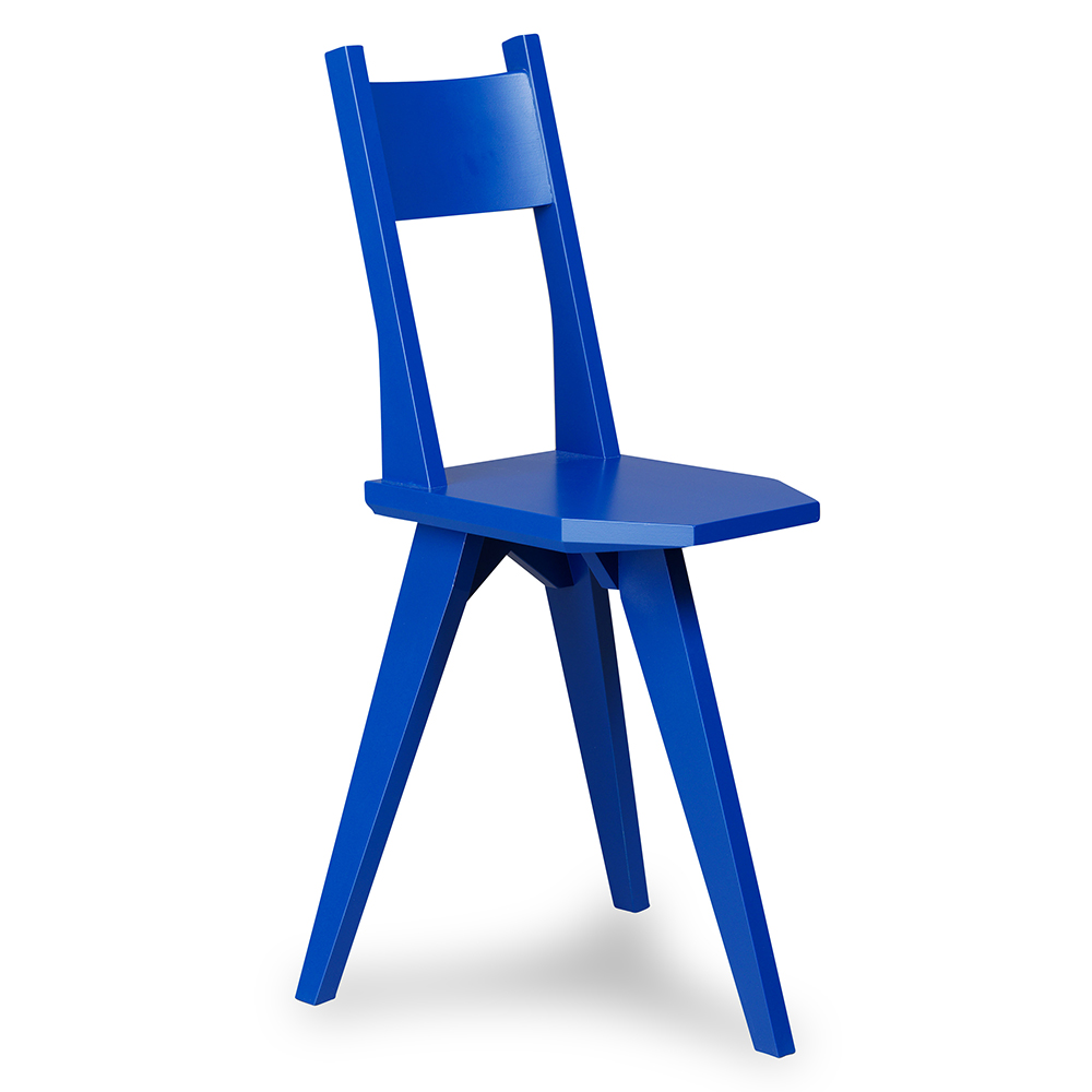 camilla chair john kandell kallemo contemporary modern designer wood wooden dining chair colored colorful