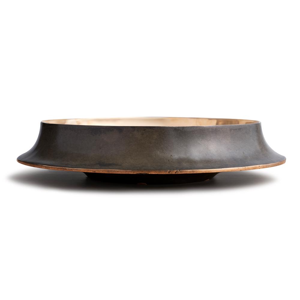 cap53 angelo mangiarotti agapecasa modern contemporary italian designer lost wax bronze vases limited edition