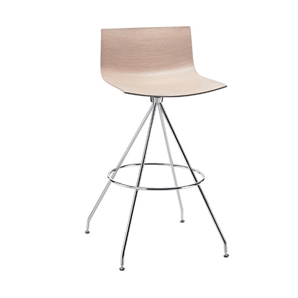 catifa 46 low back stool swivel base lievore altherr molina arper italian design furniture contemporary dining fabric upholstery leather italy shop suite ny