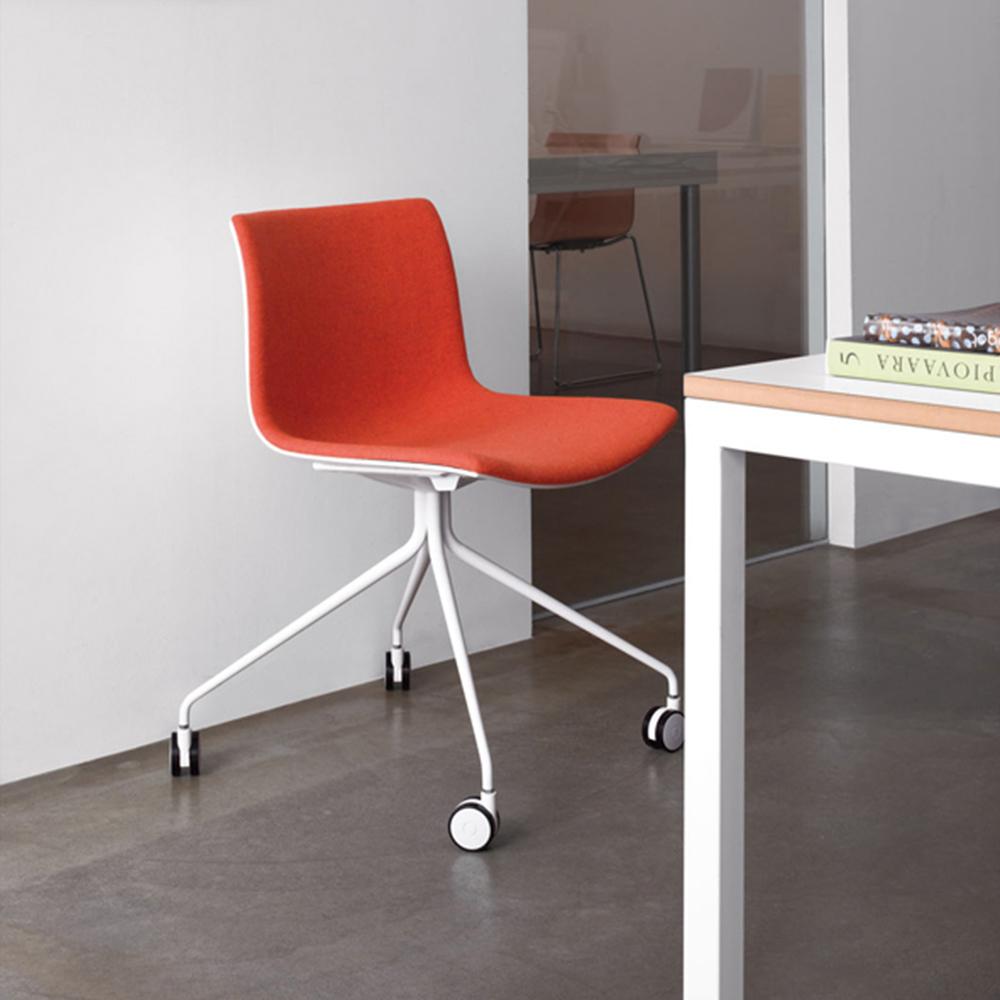 CAtifa 53 4-star swivel chair Arper red