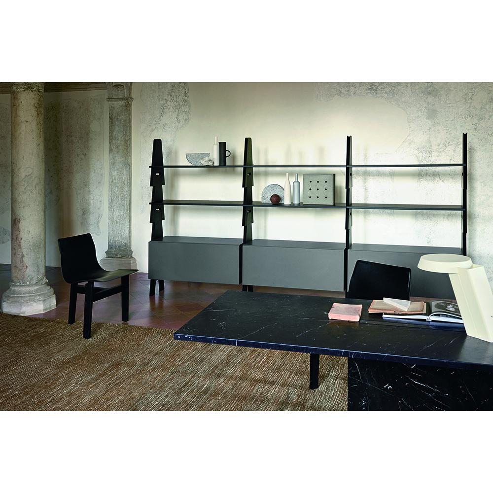 cavalletto system angelo mangiarotti agapecasa italian designer shelving system