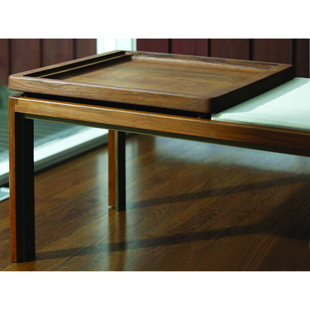 CB-31 Museum Bench BassamFellows contemporary designer solid wood bench