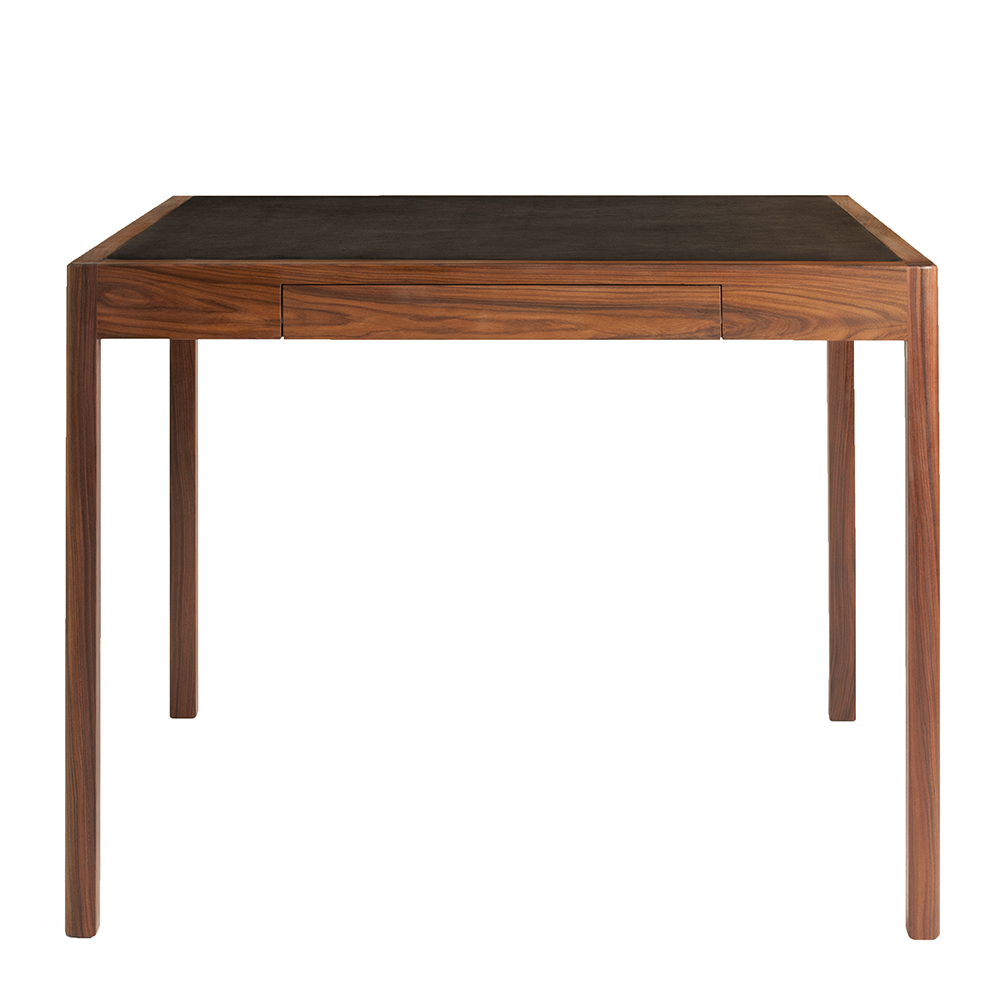 CB-311 Craig Bassam Scott Fellows BassamFellows contemporary leather wood game table