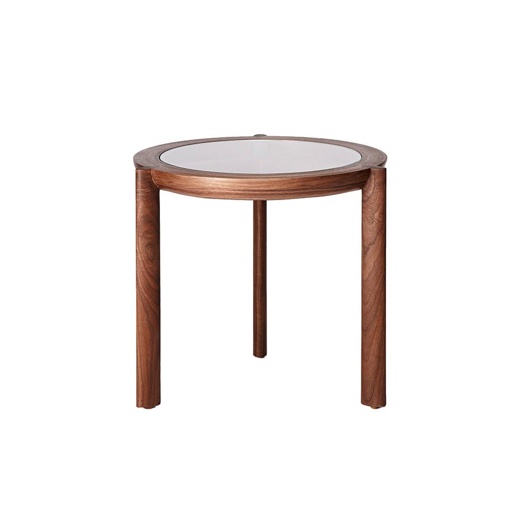 CB-321 Spoke Side Table BassamFellows SUITE NY
