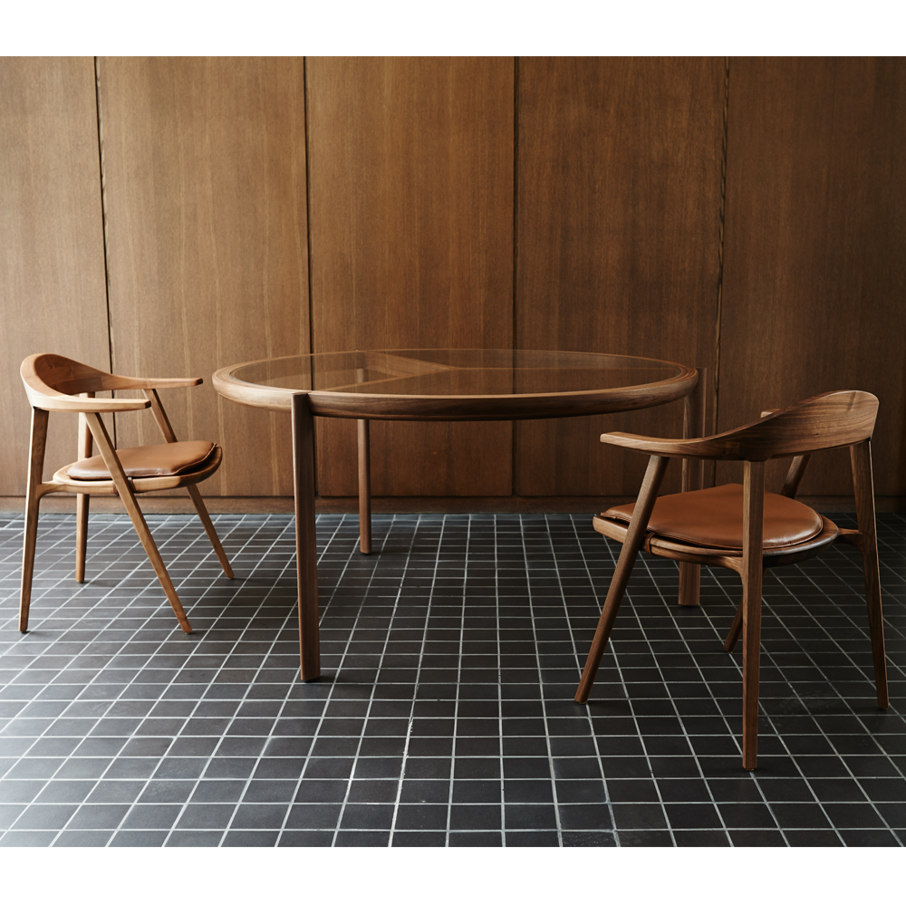 CB-323 Spoke Dining Table BassamFellows SUITE NY