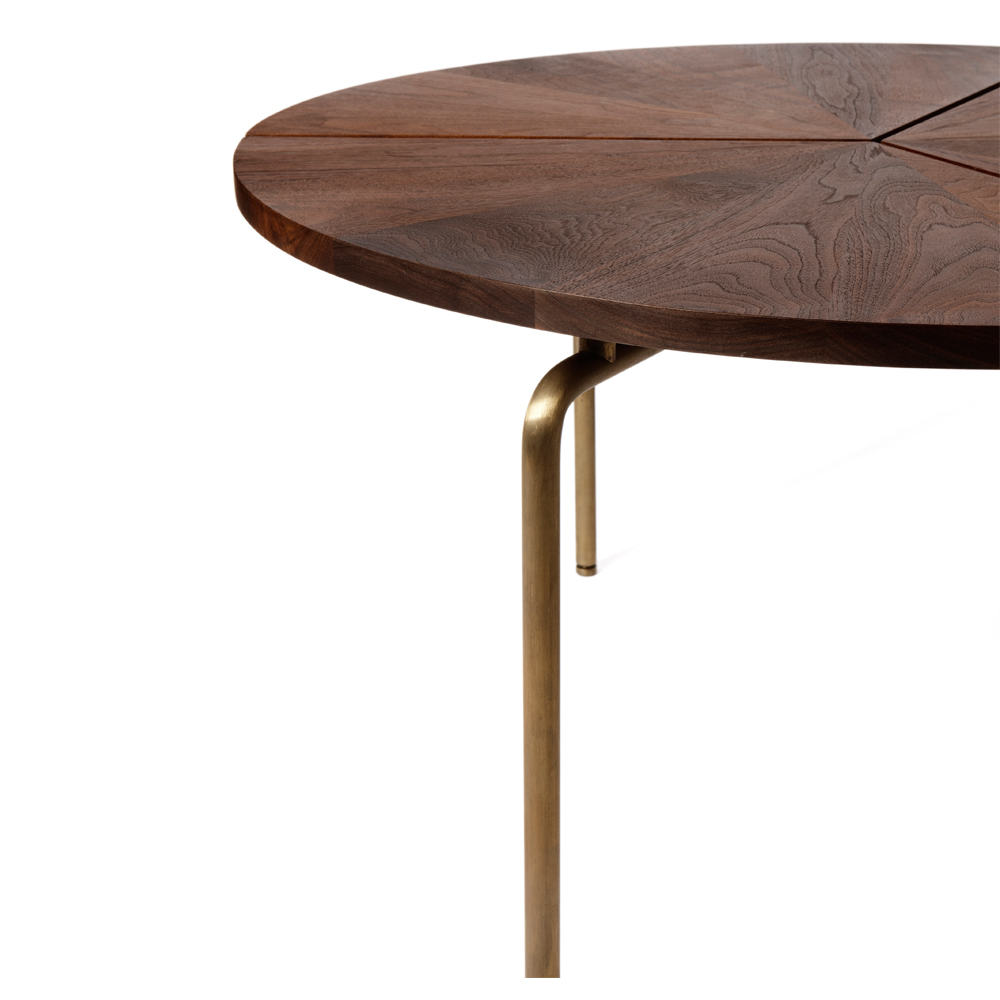 CB-35 BassamFellows Circular Dining Table
